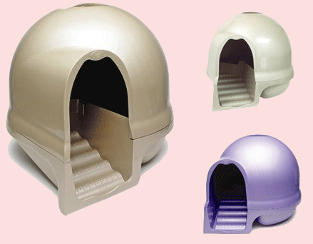 litiere chat fermee design