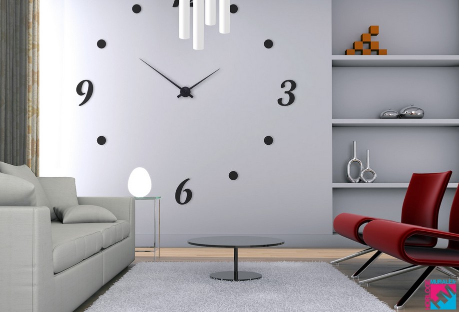 soyez l 39 heure pour la rentr e avec horloge murale code. Black Bedroom Furniture Sets. Home Design Ideas