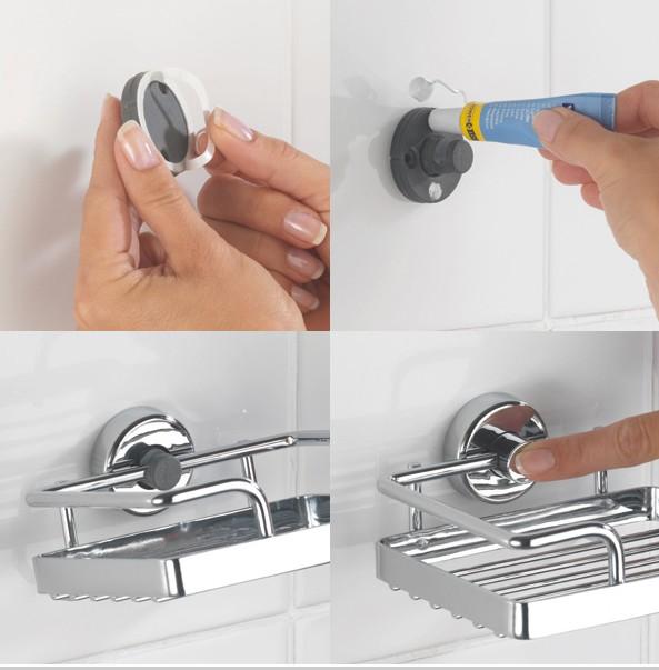 Une salle de bain design et fonctionnelle avec s de bain rennes des bons pl - Poser une etagere murale sans percer ...
