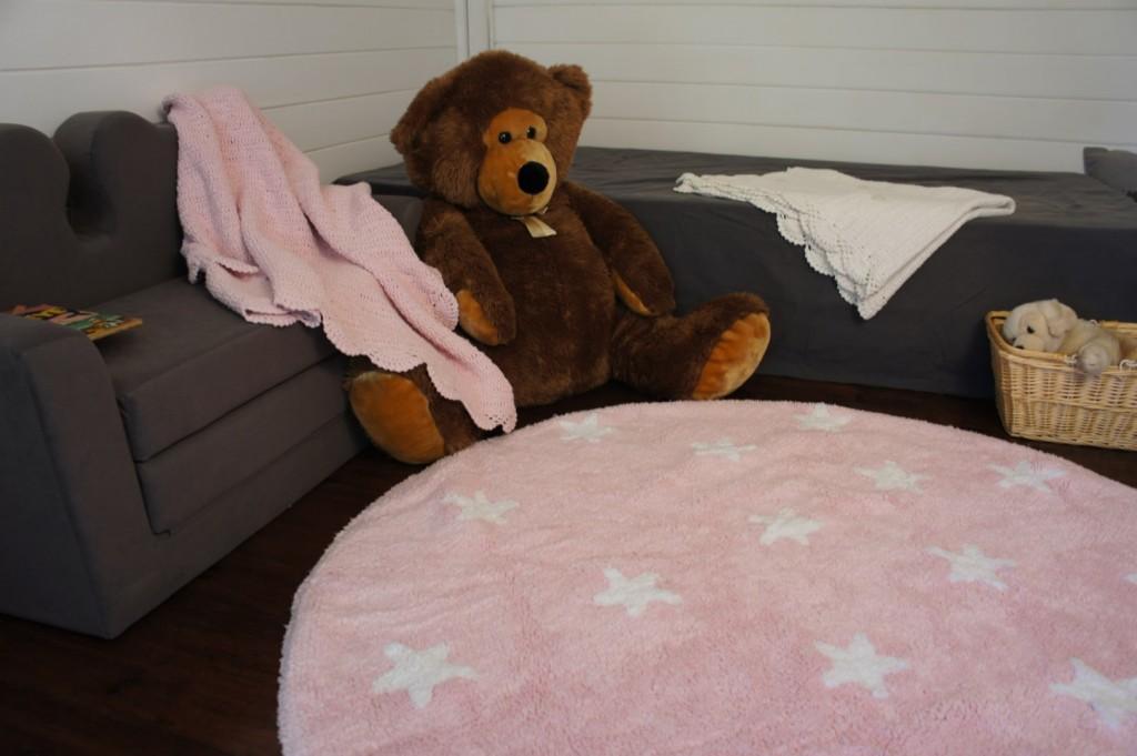 Un tapis design au meilleur prix avec rennes des bons plans tous les bons Tapis rond chambre fille