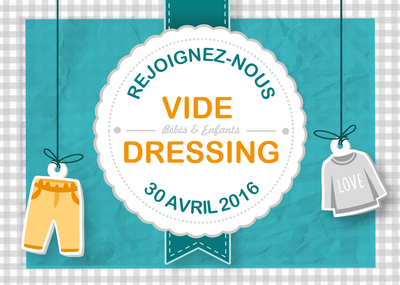 vide dressing maman b b rennes le 30 avril chez copain copine rennes des bons plans tous. Black Bedroom Furniture Sets. Home Design Ideas
