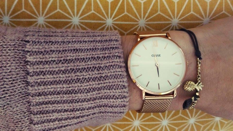 tendance une montre cluse au meilleur prix sur so bijoux. Black Bedroom Furniture Sets. Home Design Ideas